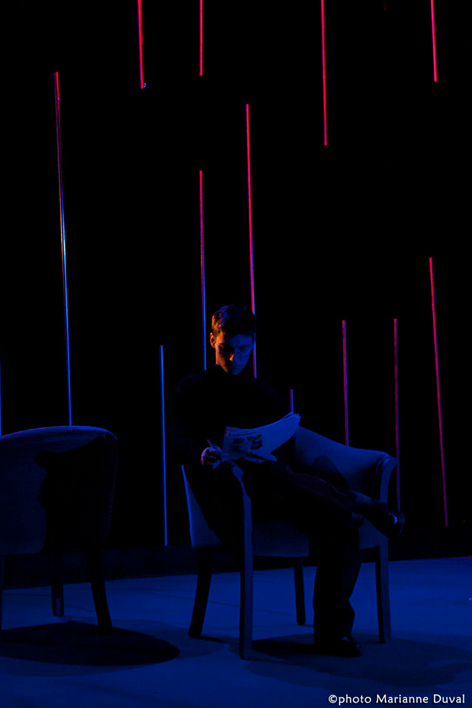 Guillaume Saindon - Le Temps et la chambre - Université d'Ottawa - Photo Théâtre Marianne Duval