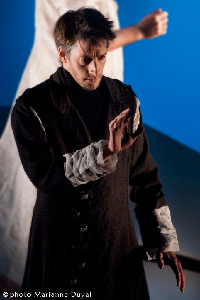 Pierre Simpson - Frères d'hivers - Théâtre La Catapulte – Nouvelle Scène - Photo Marianne Duval - 2011