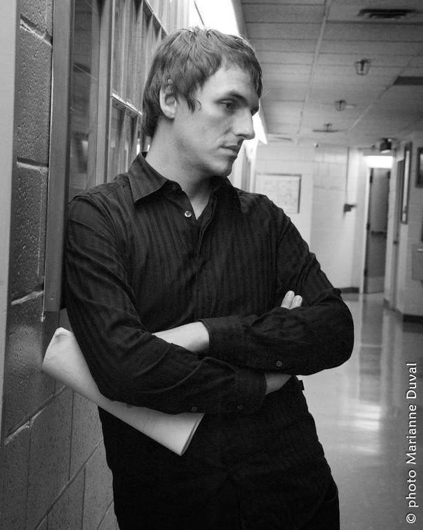 Bryan Morneau - CNA - Photographe: Marianne Duval