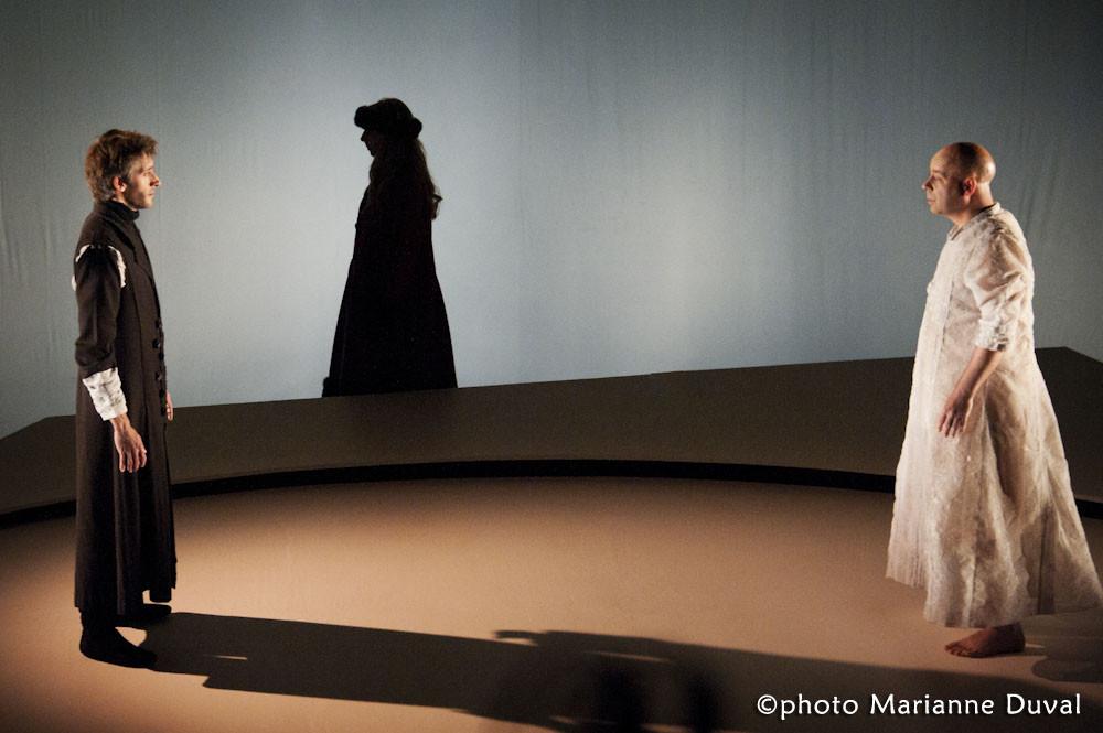 Pierre Simpson, Lina Blais, Alain Doom - Frères d'hivers - Théâtre La Catapulte – Nouvelle Scène - Photo Marianne Duval - 2011