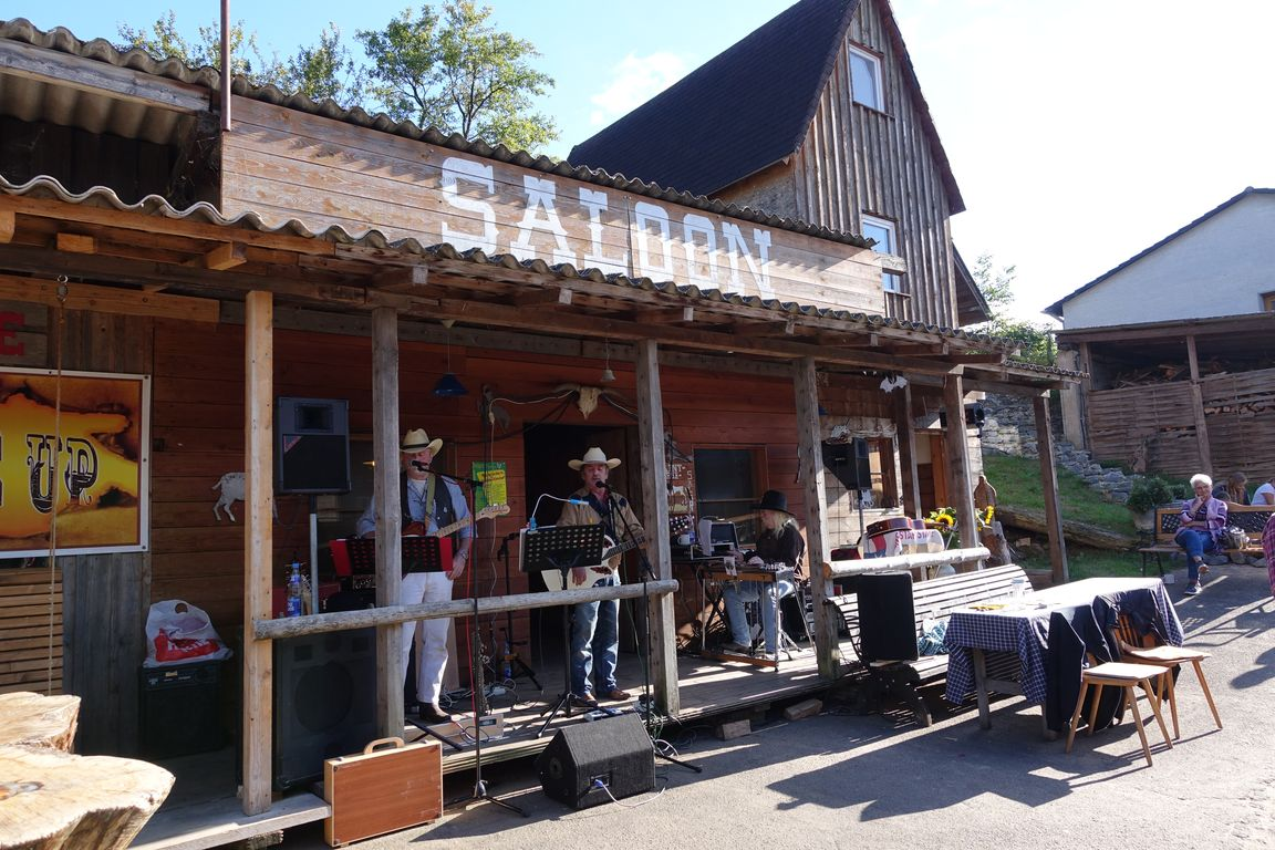 Live Country Musik bei der Tannenhof Ranch