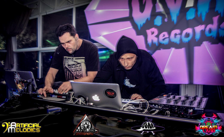Vizual invaders & DJ Psyonic