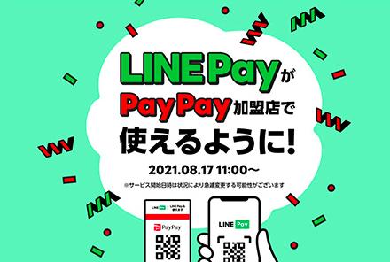 paypayとLINE Payが提携しました