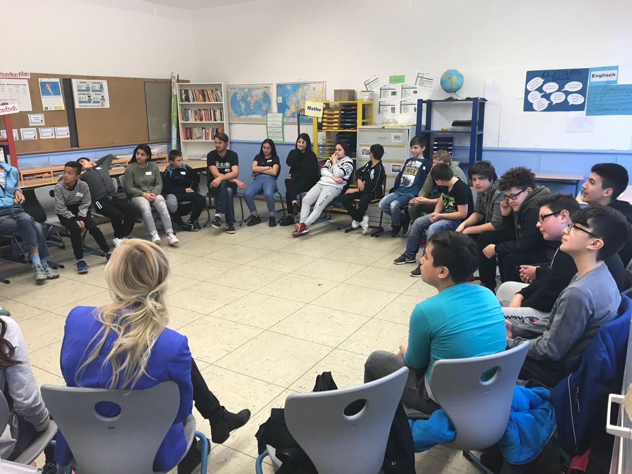 Workshop der Klassen 7a & 7b