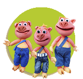 Los 3 Cerditos