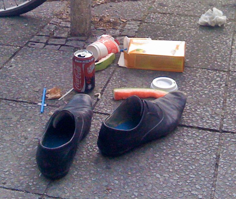 Stilleben mit Schuhen