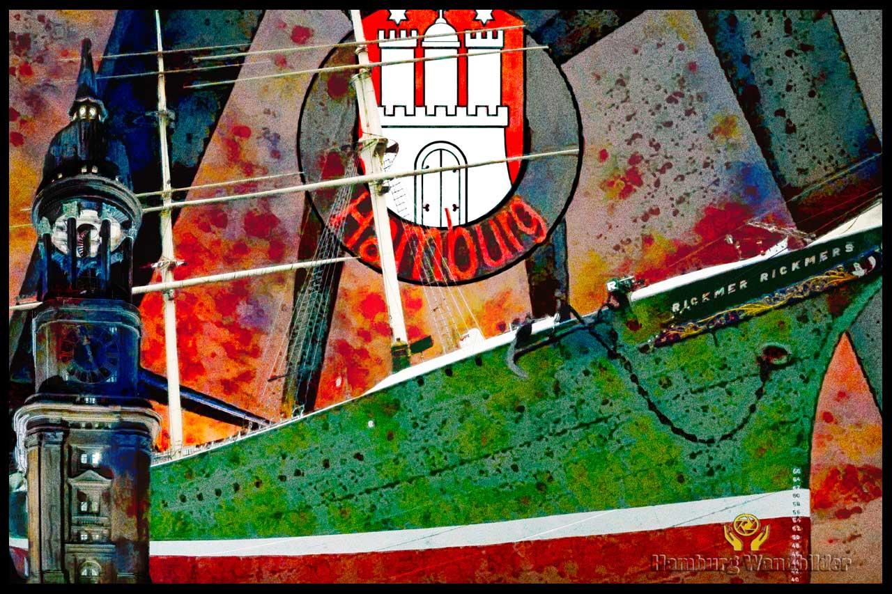 Hamburg Collage  /  1169