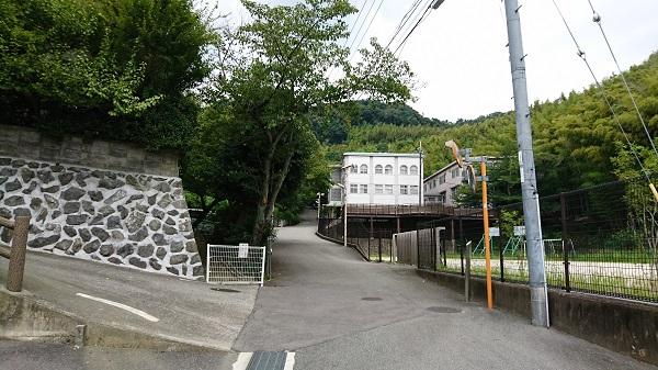 大阪保育福祉専門学校が見えてきます