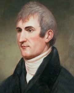 Captain Meriwether Lewis, * 1774; † 1809