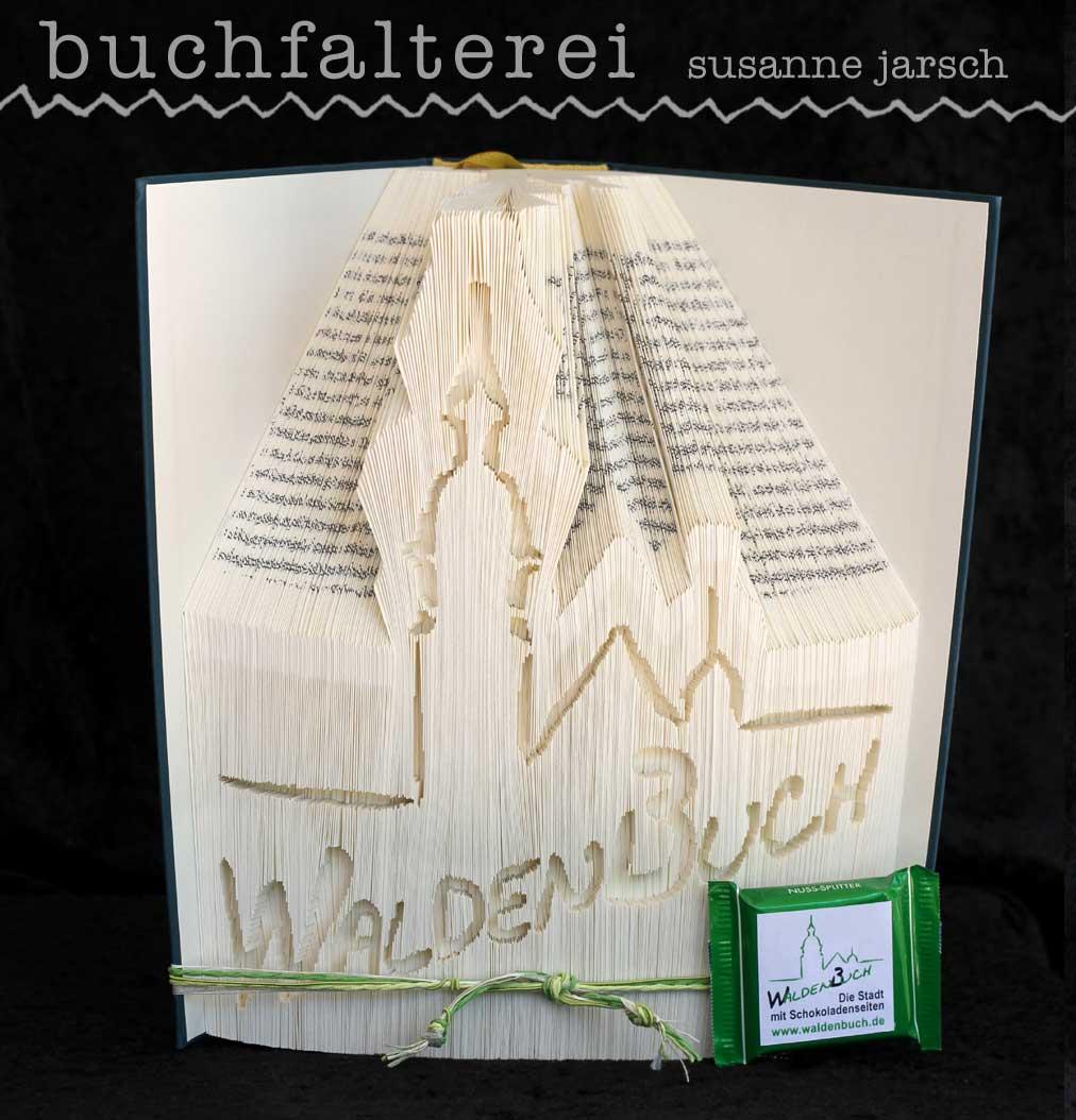 das faltenbuch aus waldenbuch - Wert 80 €