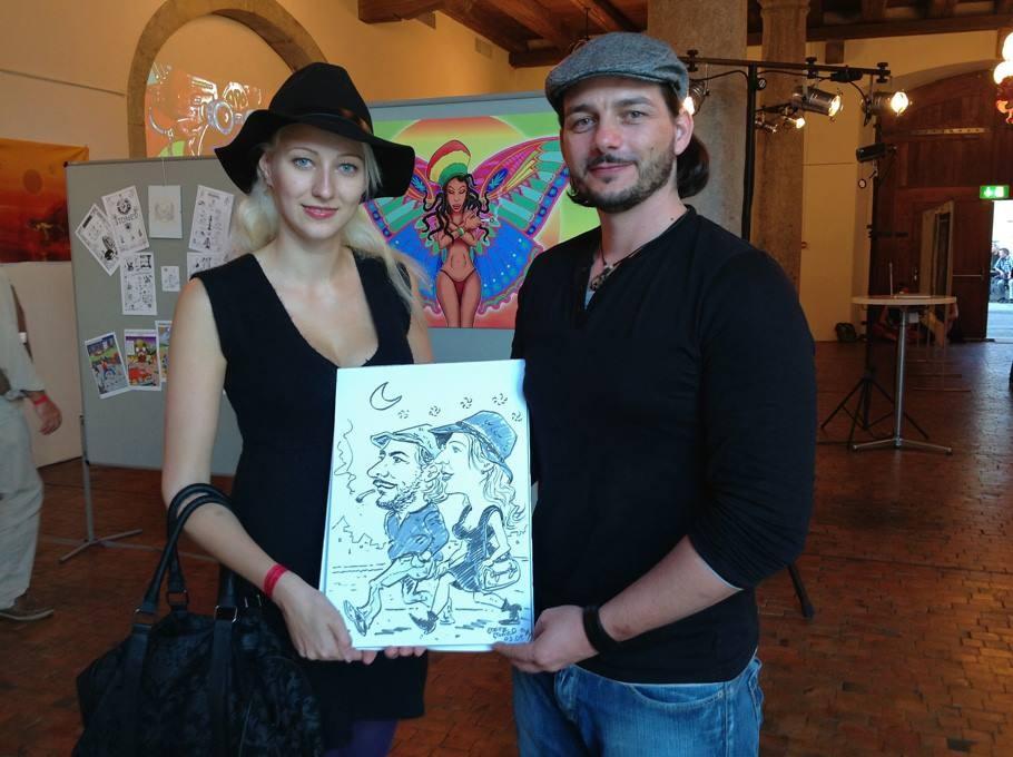 Karikatur & Schnellzeichnen Ausstellung