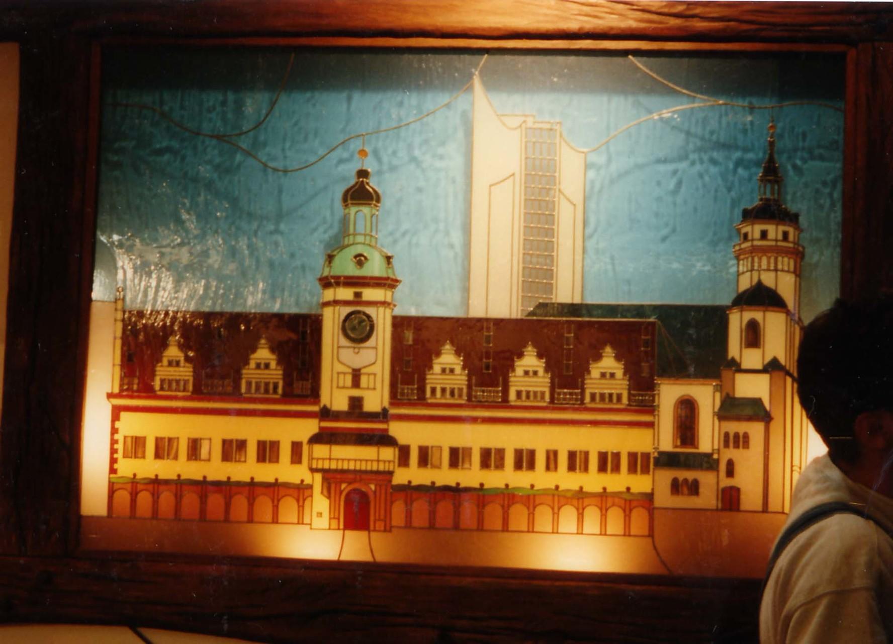 Messeobjekt für Leipziger Messe
