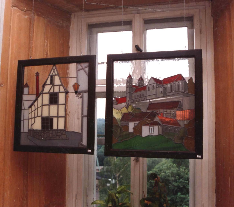 Finkenherd und Schloss mit Stiftskirche Quedlinburg