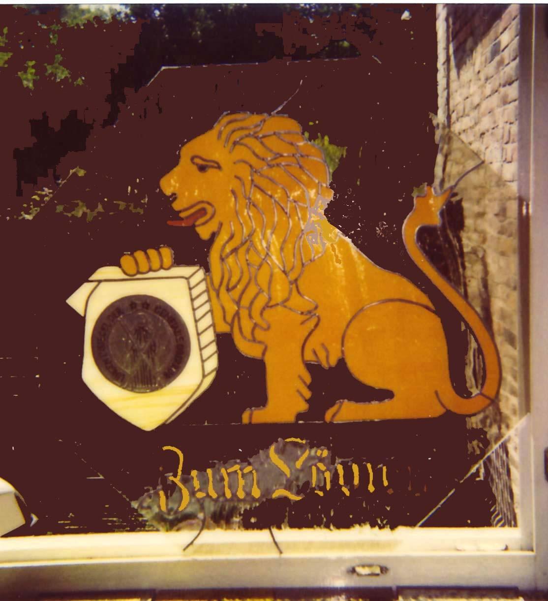 Ausleger Hotel zum Löwen Rottleberode