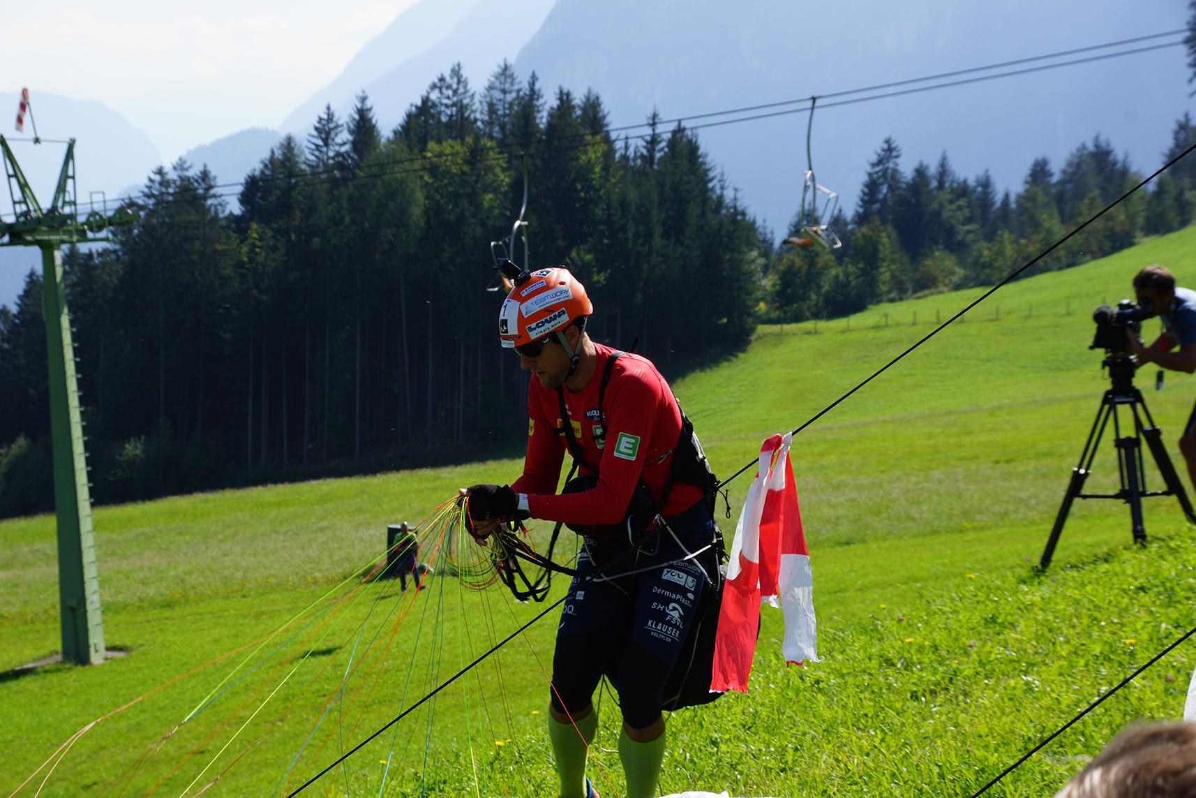 Nach der bärenstarken Performance von Chrigel Maurer führen wir mit 3 Minuten Vorsprung!