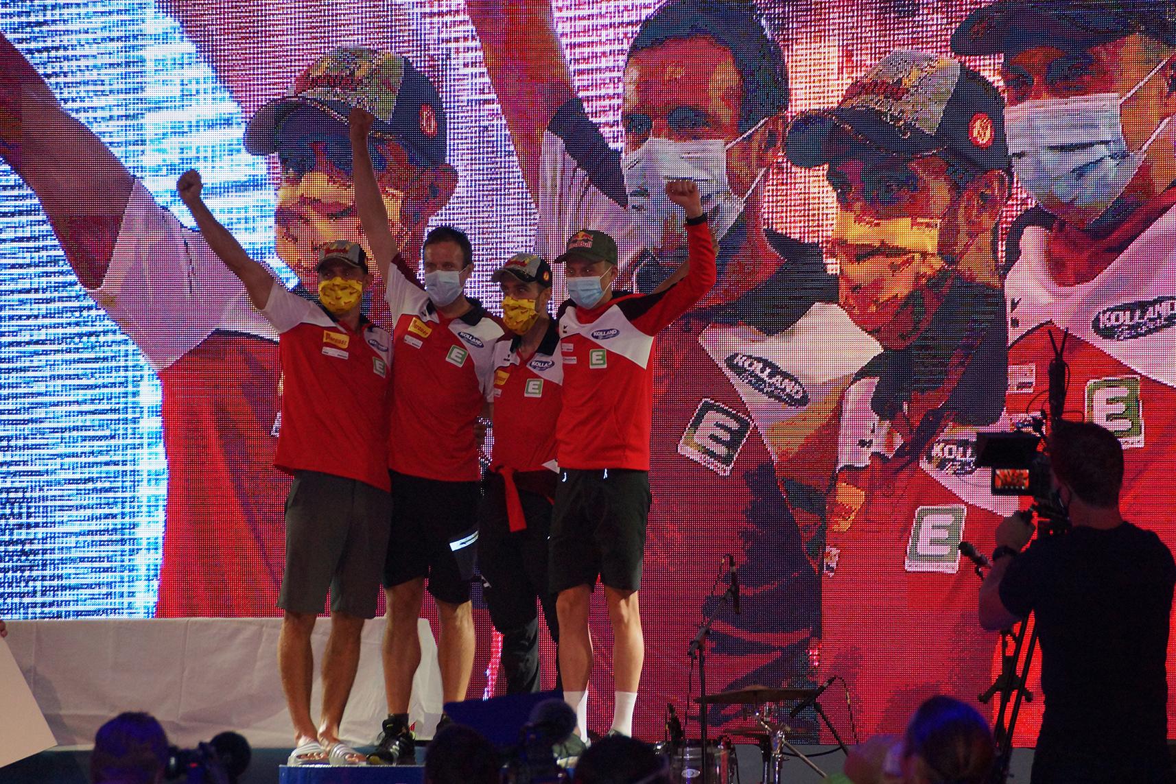Dritter Sieg in Folge für Kolland Topsport Professional!