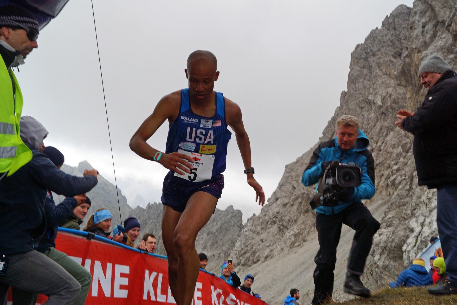 Berglauf-Weltmeister Joseph Gray