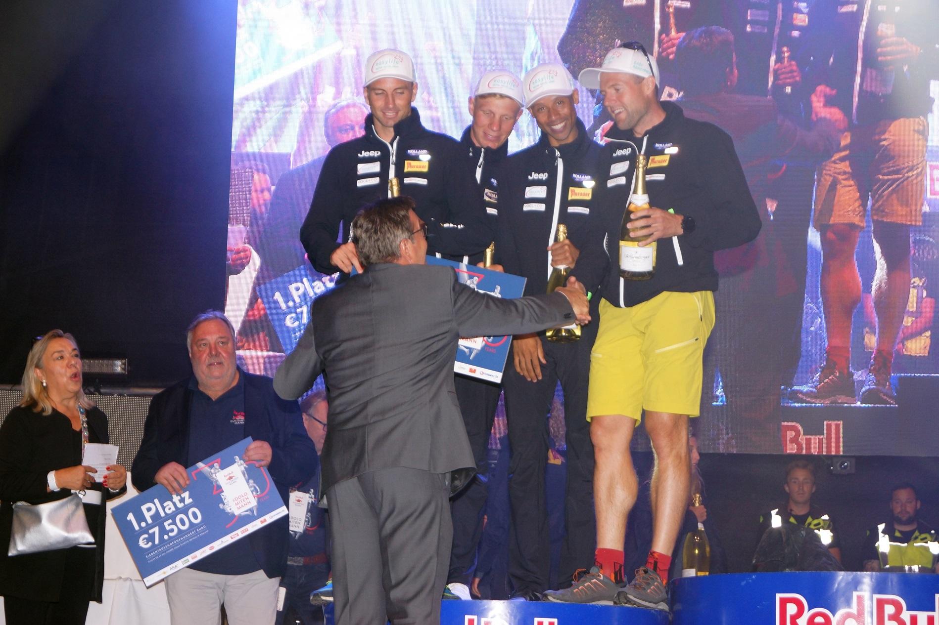 Kolland Topsport Professional auf Platz 2