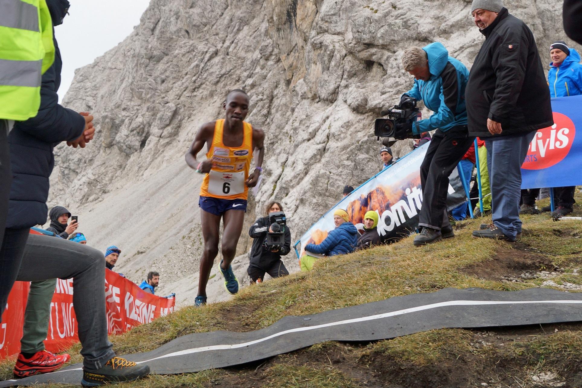Berglauf-Weltmeister Victor Kiplangat