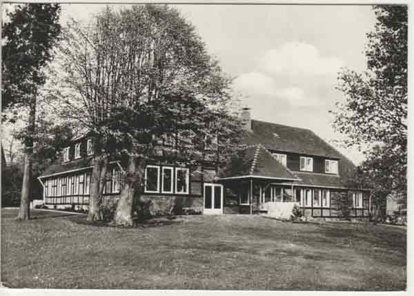 Emsen Forsthaus schon als Landschulheim umgebaut