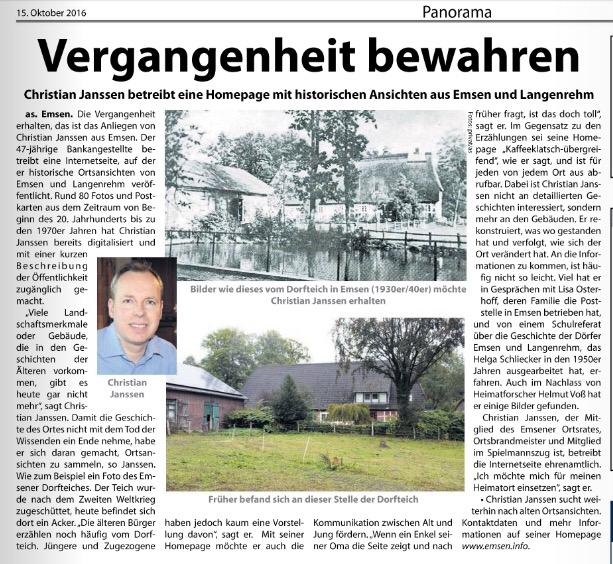 Kreiszeitung Nordheide Wochenblatt