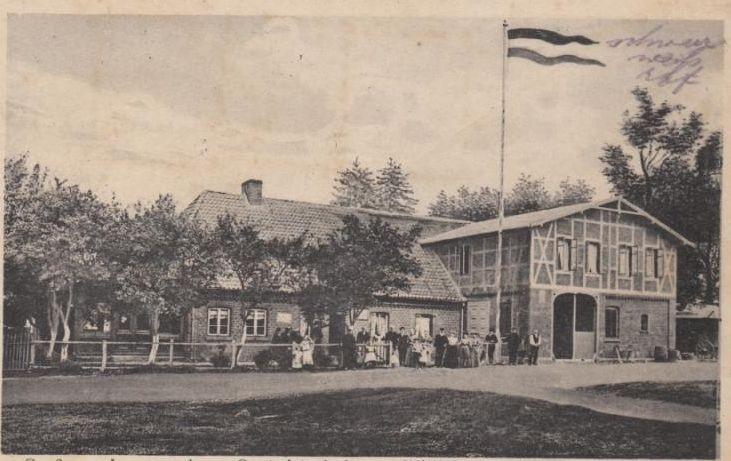 Langenrehm Gastwirtschaft von Willi Seckerdieck ca 1922