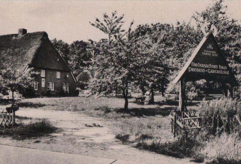 Gaststätte/ Pension Niedersachsenhaus (ehemals Lücking heute Bartels Langenrehm)