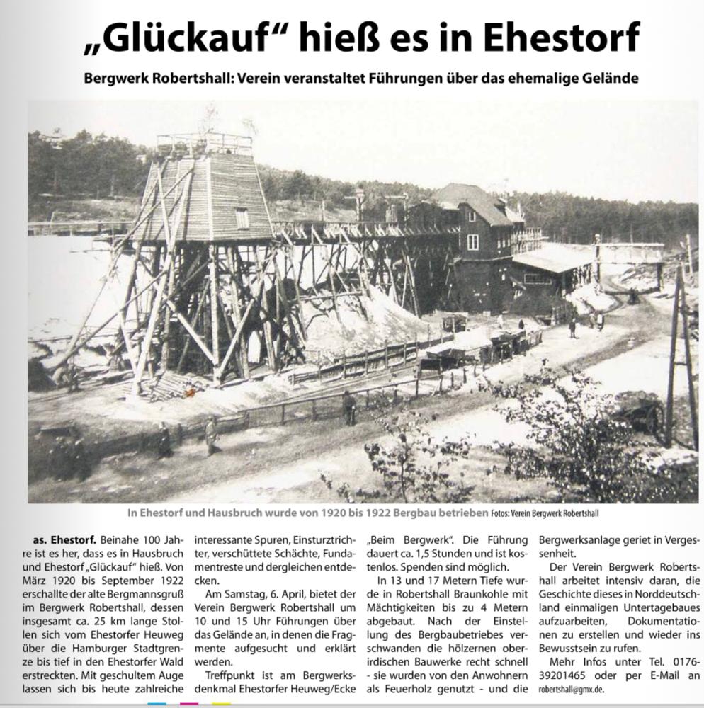 QUELLE: Kreiszeitung Nordheide Wochenblatt vom 3.4.2019 Seite 16
