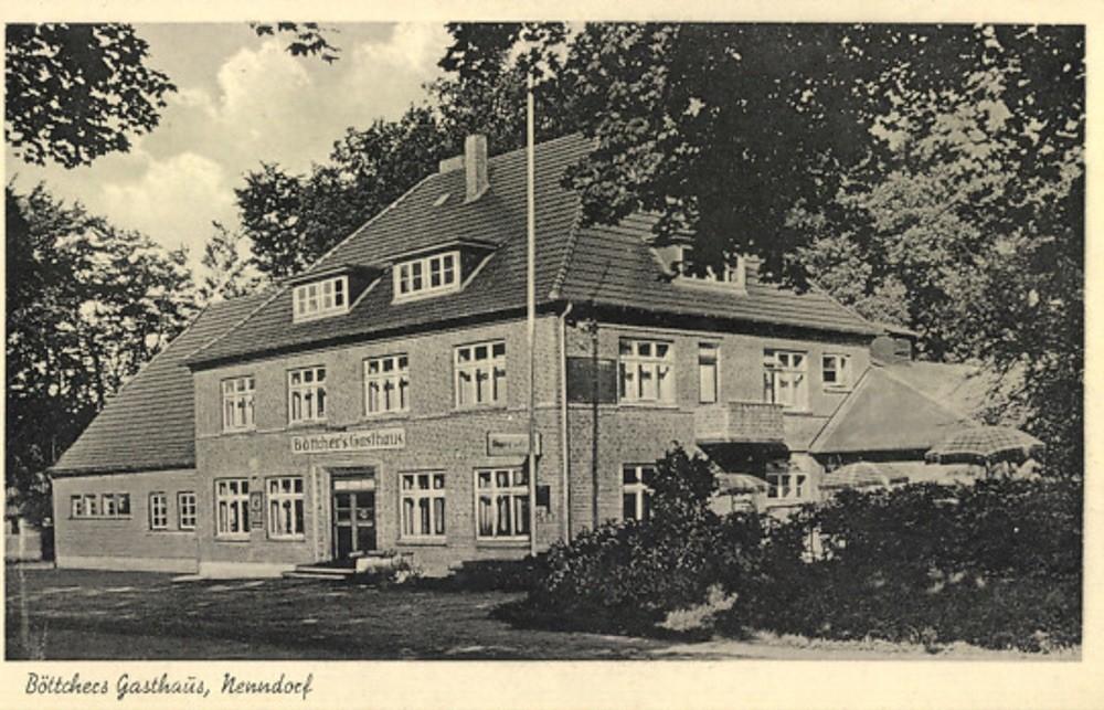 Nenndorf Gasthaus Böttcher