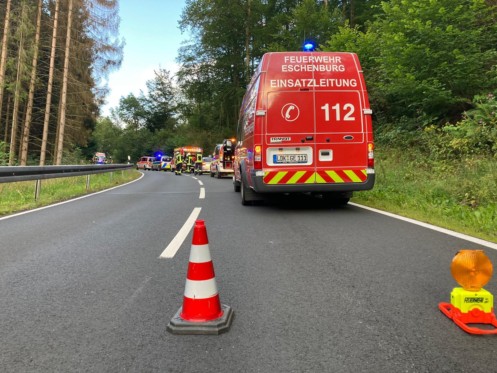H1-Auslaufende Betriebsmittel nach VU L3043 Eiershausen