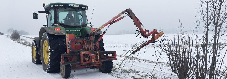 Heckenplege Agrar Vorharz