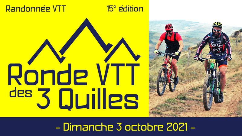 Ronde VTT des 3 Quilles 2021
