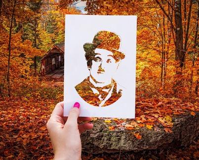 Le jour où je me suis aimé pour de vrai, Charlie Chaplin