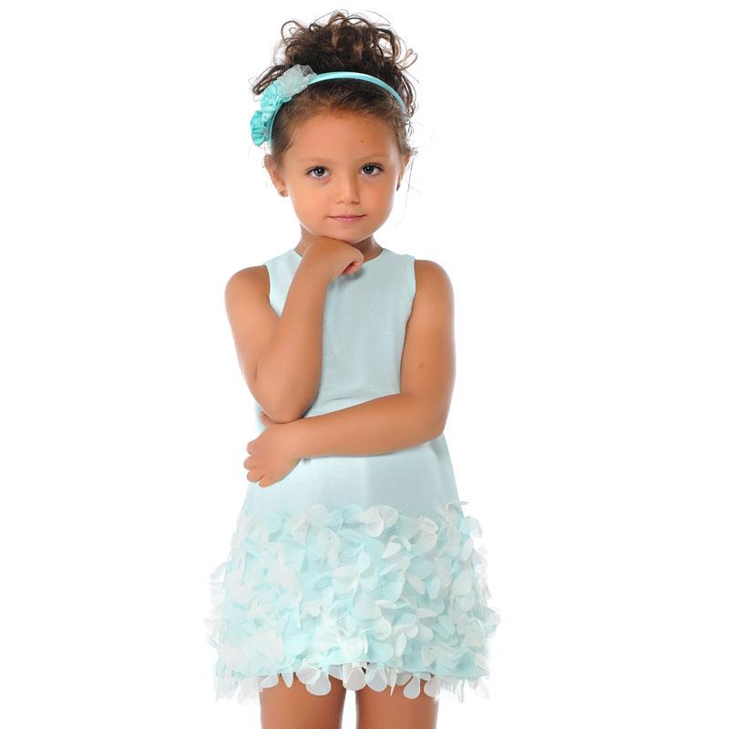 Vestiti Verde Tiffany Bambina.Abiti La Tartaruga Abbigliamento Bambini