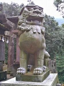 陶山神社狛犬07(阿形)