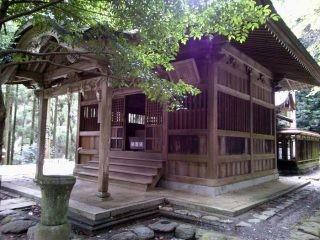 垂裕神社 拝殿