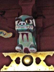 鵜戸神宮本殿狛犬(吽形)