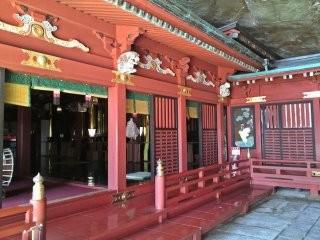 鵜戸神宮 本殿(右側)
