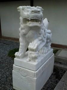 鎌倉大仏狛犬(吽形)