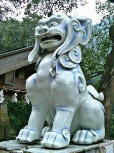 陶山神社狛犬04(阿形)