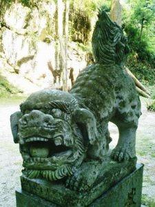 後鳥羽神社狛犬02(阿形)