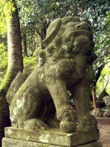 湊川社狛犬(吽形)