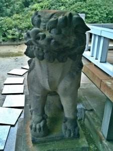陶山神社狛犬08(吽形)