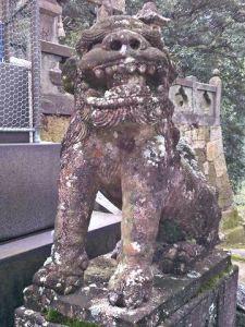 陶山神社狛犬06(阿形)
