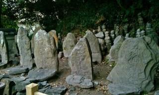 赤間神宮 平家一門の墓(七盛塚)