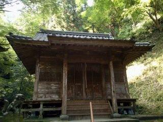 後鳥羽神社 拝殿