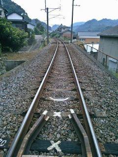 陶山神社 参道線路
