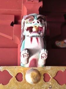 鵜戸神宮本殿狛犬(阿形)