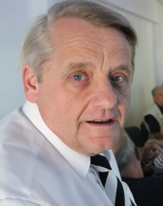 Gerd-Ulrich Herrmann während einer Veranstaltung als Leiter der Gedenkstätte Seelower Höhen (2014)