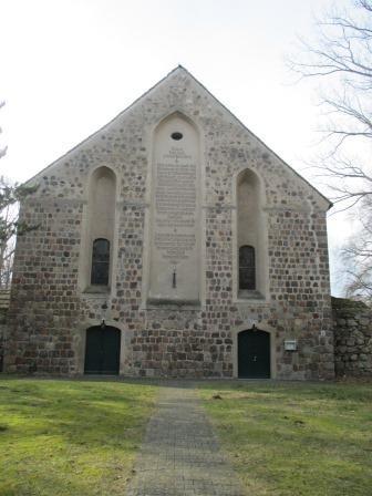 Altfriedland: Ehemalige Klosterkirche